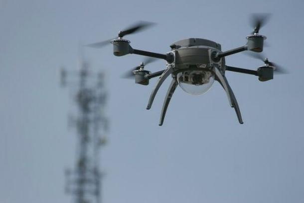 Elképesztő videó: így látja a drón a rendkívüli New York-i időjárást