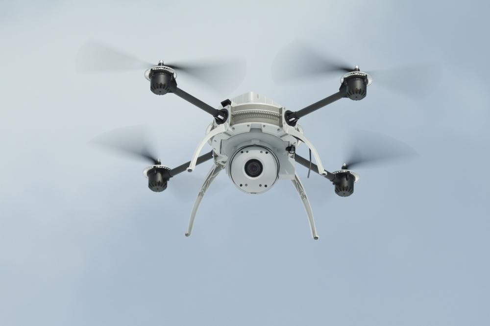 Drón járt Pripjaty felett